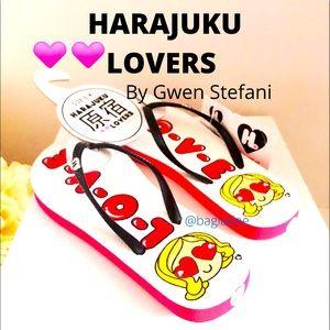 HARAJUKU LOVERS 💕💕Flip Flops